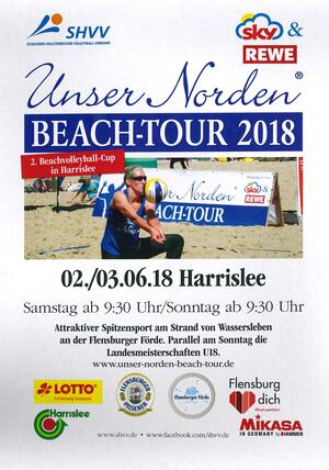 Beachvolleyball-Turnier am 02./03.06.2018 in Wassersleben