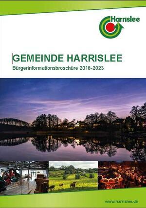 Titelseite_Bürgerinformationsbroschüre Harrislee 2018-2023