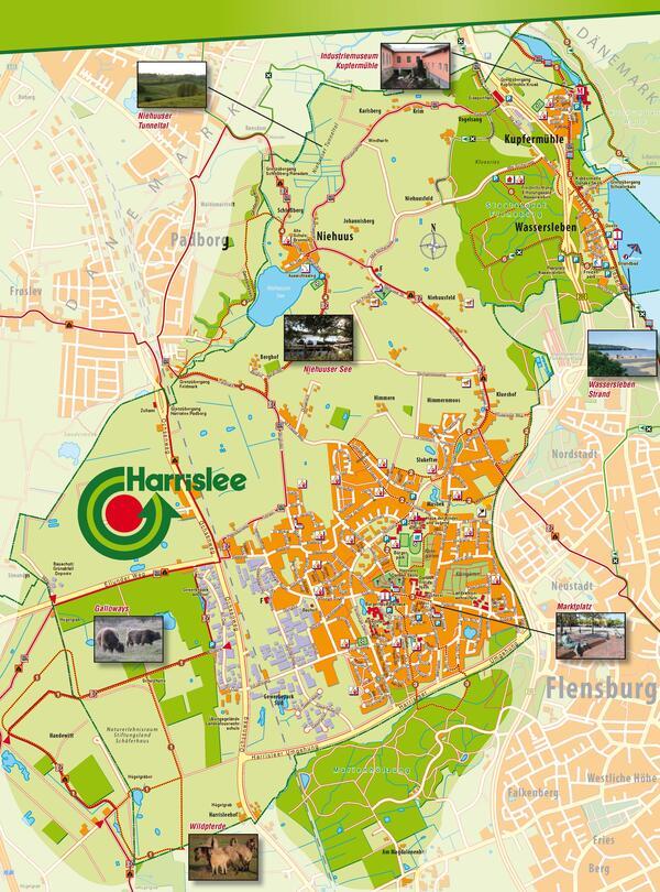 touristischer_Ortsplan_Harrislee